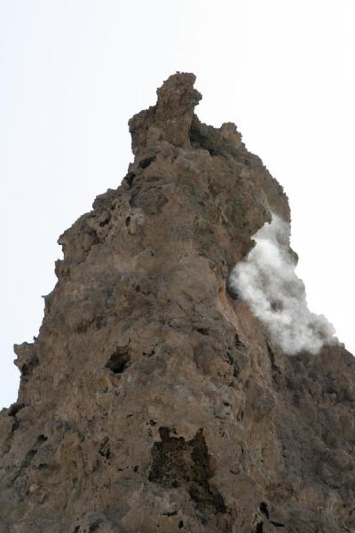 Picture of Lac Abbé (Djibouti): Chimney of Lac Abbé