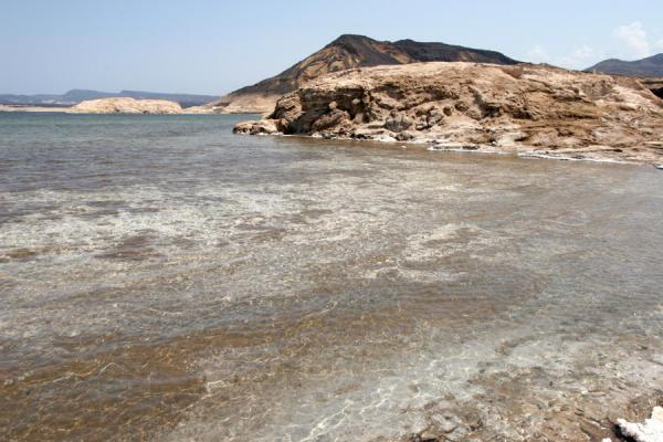 Small bay in Lac Assal | Lago Assal | Yibuti