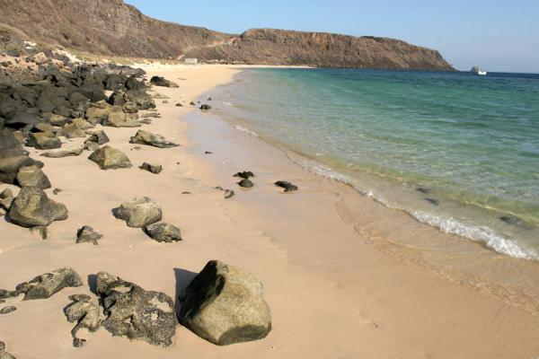 Foto van Djibouti (Sable blanc: beach and quiet waters)