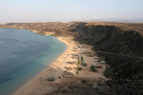 Beach of Sable blanc just after sunrise | Sable Blanc | Djibouti