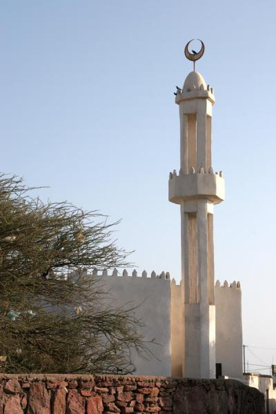Photo de Minaret of one of the 7 mosques of TadjouraTadjourah - Djibouti