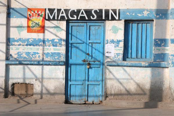 Picture of Shop on the waterfront of Tadjoura - Djibouti - Africa