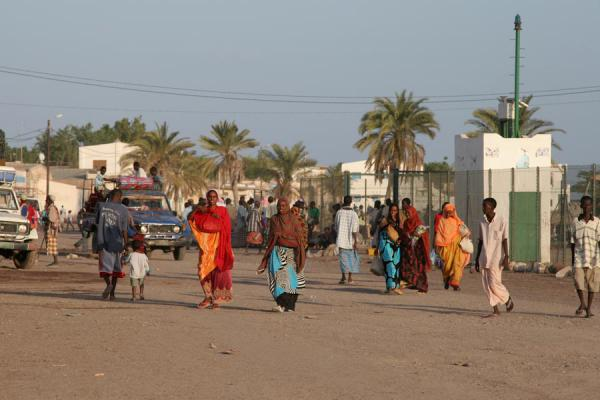 Picture of Boulevard of Tadjoura: going for an afternoon stroll