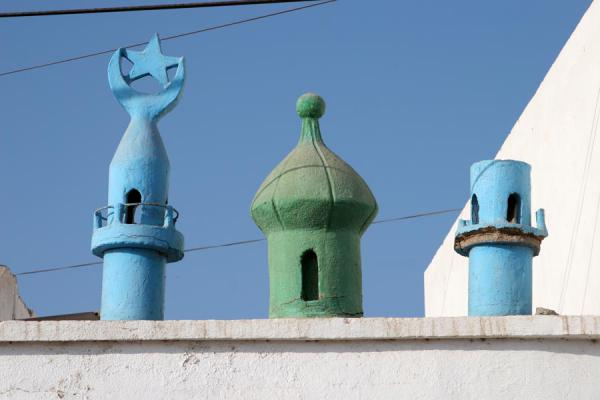 Detail of mosque in Tadjoura - 吉布地