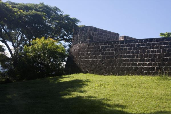 Sturdy walls of Fort Shirley | North Dominica | Dominica