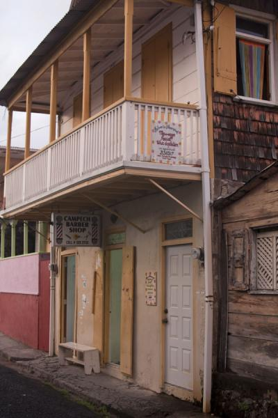 Foto van House with balcony in RoseauRoseau - Dominica