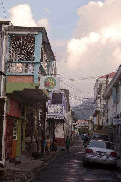 Narrow street in Roseau | Roseau | Dominica
