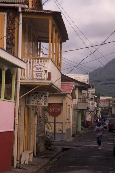 Foto van One of the streets of RoseauRoseau - Dominica