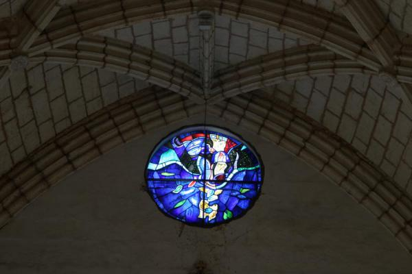 的照片 Circular stained glass window in the Catedral Primada de las Américas - 多明尼加共和国