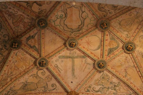 的照片 Close-up of the ceiling of the Catedral Primada de las Américas - 多明尼加共和国