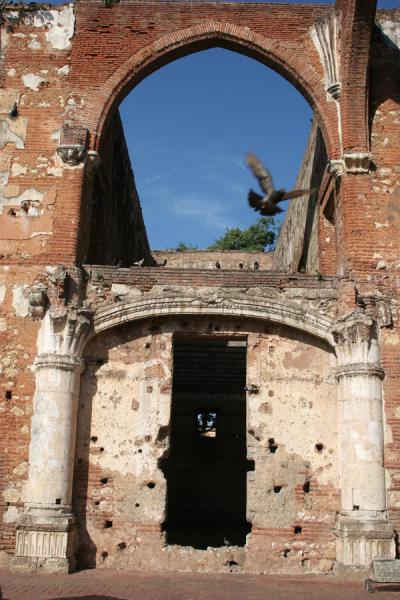 Picture of Hospital San Nicolás de Bari (Dominican Republic): Arches and columns are all that remains of the Hospital San Nicolás de Bari