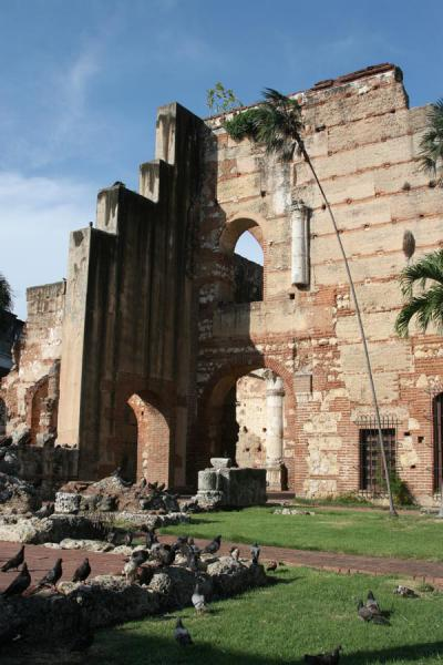 Picture of Hospital San Nicolás de Bari (Dominican Republic): View of the ruins of Hospital San Nicolás de Bari seen from the street