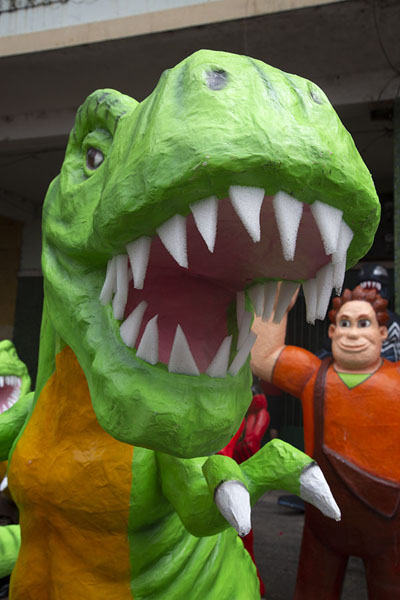 Dinosaur doll for sale | Año viejo effigy dolls | Ecuador
