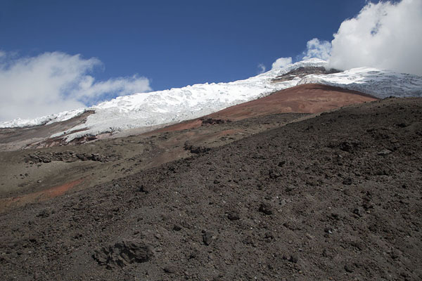 Foto van View of Cotopaxi from the north sideCotopaxi - Ecuador