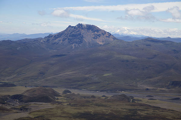 Picture of Ruminahui volcano seen from the slopes of Cotopaxi - Ecuador - Americas