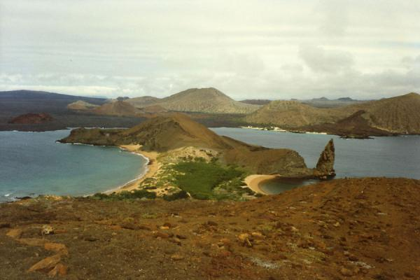 Picture of Galápagos Islands (Ecuador): Galápagos Islands: beaches, volcanic landscape, and the ocean