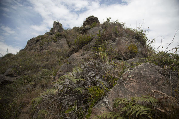 Foto de Rocky section of Cerro PondoñoPululahua - Ecuador