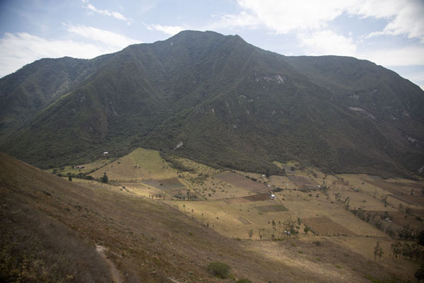 View of Pululahua caldera from Cerro Pondoño - 厄瓜多尔