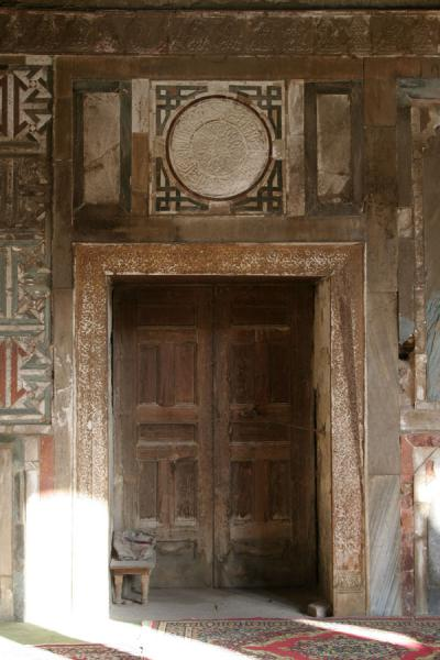 Picture of Old and worn: door of the Al Maridani mosqueCairo - Egypt