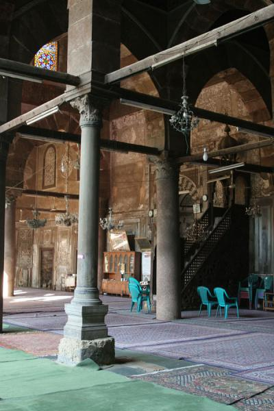 Picture of Interior of Al Maridani mosque