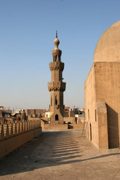 Minaret and dome of Al Maridani mosque | Al Maridani mosque | Egypt