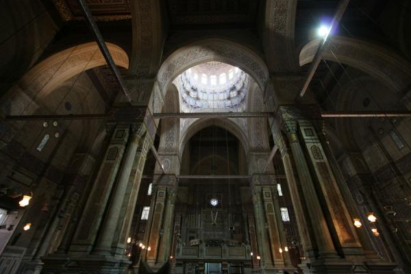 Picture of Ar-Rifai mosque (Egypt): Interior of ar-Rifai mosque