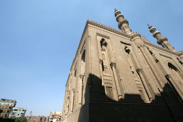 Foto van View of ar-Rifai mosque from belowCairo - Egypte