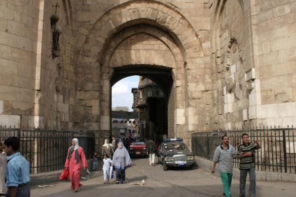 Foto di Gate of Bab Zuweyla looking towards the old cityCairo - Egitto