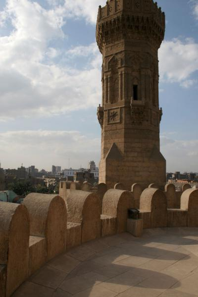 Part of the minaret of Bab Zuweyla | Bab Zuweyla | Egypte