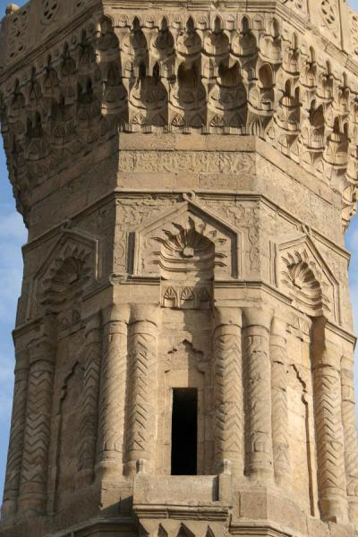 Picture of Bab Zuweyla (Egypt): Bab Zuweyla: detail of one of the minarets