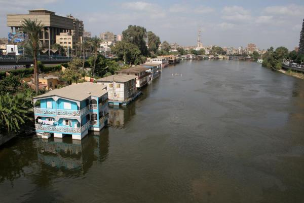 Houseboats or dahabiyyas in the river Nile | Houseboats | Egypt