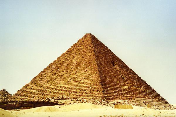 Picture of Pyramids of Gizeh (Egypt): Sphinx and Pyramid