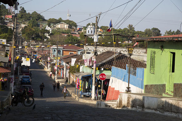 Typical colonial street in Ataco | Concepción de Ataco | El Salvador