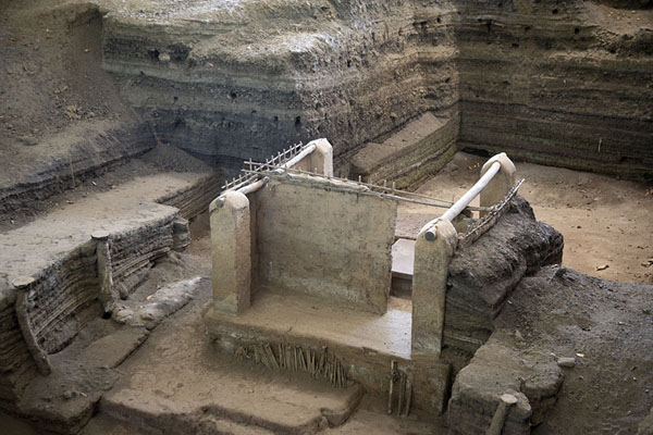 Foto de Storehouse in Area 3 excavated from thick layers of volcanic ash - El Salvador - América
