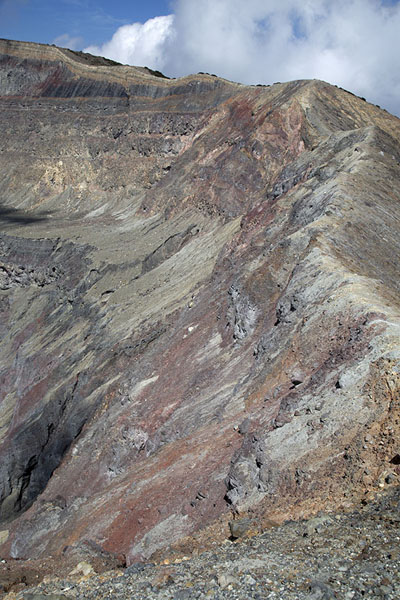 Picture of Crater rim of the Santa Ana volcano - El Salvador