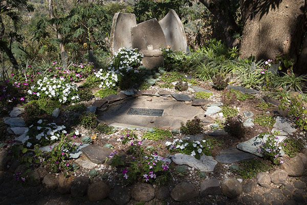 The last resting place of Alejandro Cotto, famous cineast and author | Suchitoto | El Salvador