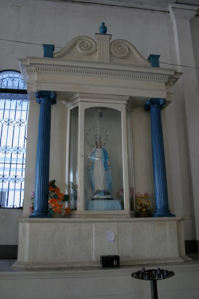 Picture of Inside Santa Lucía Cathedral in ZacatecolucaZacatecoluca - El Salvador