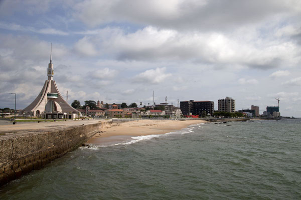 View of the waterfront of Bata, looking south | Bata waterfront | Equatorial Guinea