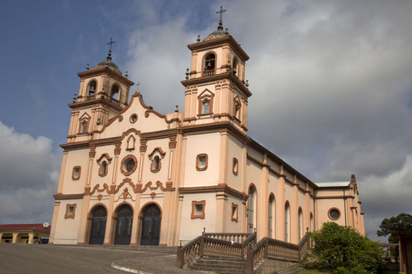 The cathedral of Bata, just off the waterfront | Bata waterfront | Equatorial Guinea
