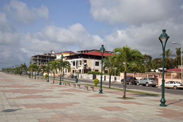 Picture of Part of the waterfront of BataBata - Equatorial Guinea