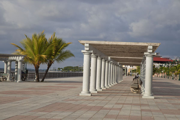 The Paseo Marítimo has been nicely laid out to give Bata some space to walk | Bata waterfront | Equatorial Guinea