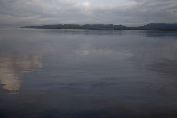 Picture of Looking west from the waterfront of KogoKogo - Equatorial Guinea