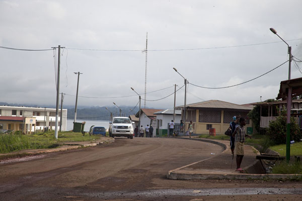 Picture of The main street in KogoKogo - Equatorial Guinea