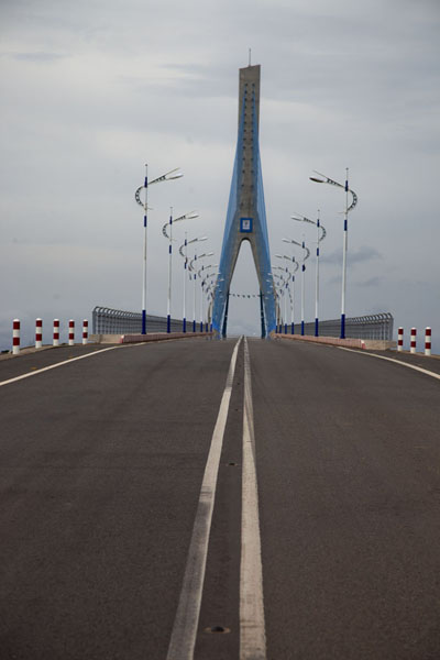 Picture of The modern bridge making Mbini a short hop from BataMbini - Equatorial Guinea