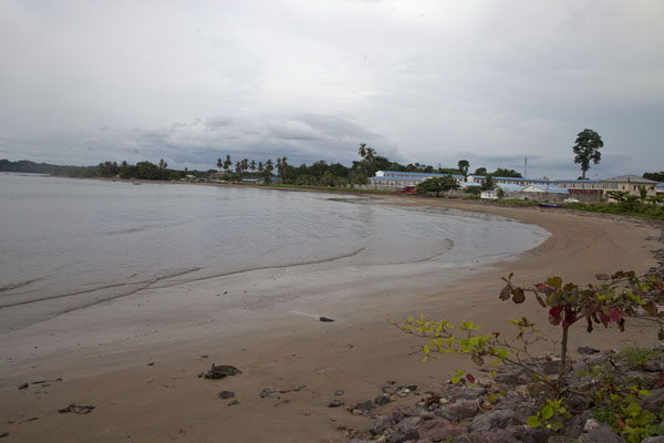 Picture of The beach of Mbini at low tideMbini - Equatorial Guinea