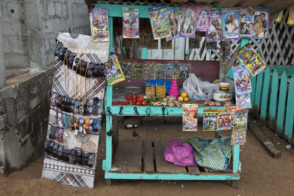 Picture of Shop with all kinds of things in MbiniMbini - Equatorial Guinea