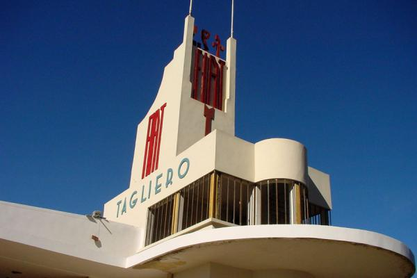Picture of Fiat Tagliero building, Asmara