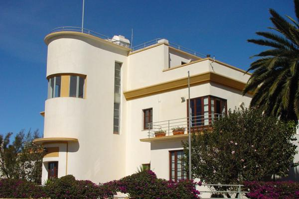 Now housing the World Bank headquarters in Asmara, this villa is in the south of Asmara | Asmara Architecture | Eritrea