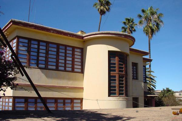 Cohan's villa is one more example of very un-African architecture in Asmara | Asmara Architecture | Eritrea