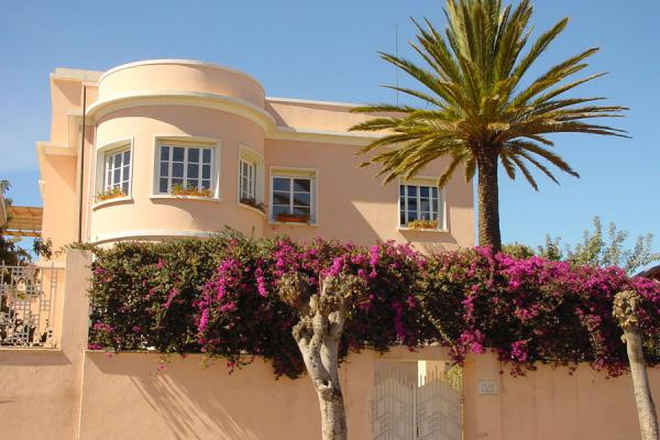 Picture of The Villa Laila, on an avenue with other villas, looks like a pleasant place to lifeAsmara - Eritrea